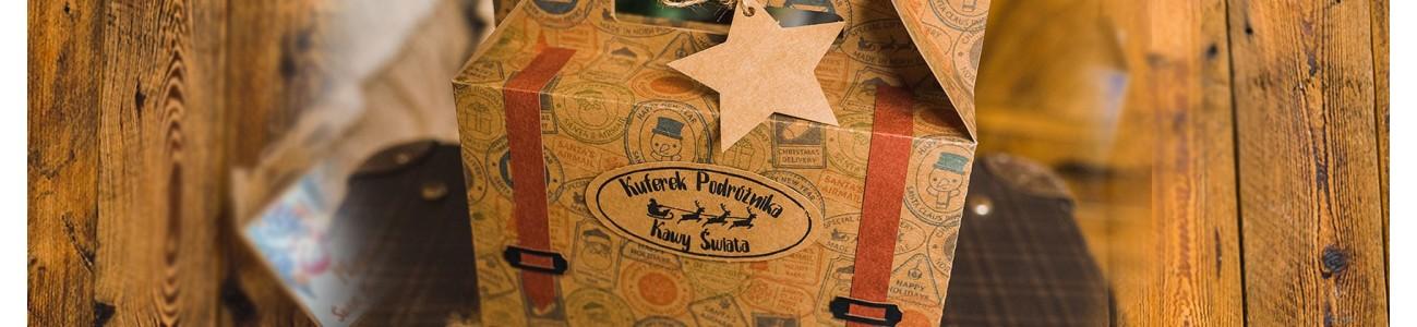 Kawowe walizki podróznika - KSANTYNA.pl