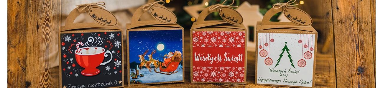 Boxy świąteczne - Prezenty - KSANTYNA.pl